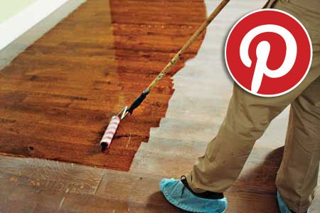 This Old House - Home Improvement Weekly - 12-25-12 - How to Refinish Floors Without Stripping Them, and More Pinterest Favorites - The most popular content from our boards, including a step-by-step method for erasing damage to wood floors, and other ideas
