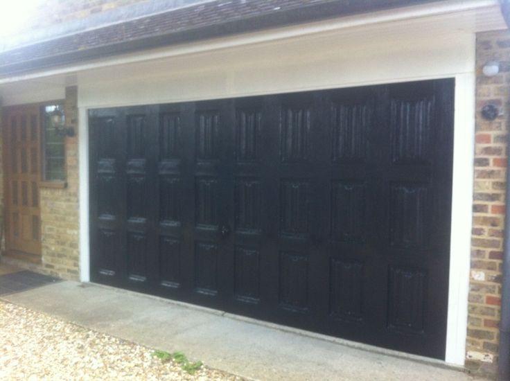 Best 25 Black garage doors ideas on Pinterest  Paint garage doors Garage exterior and Garage