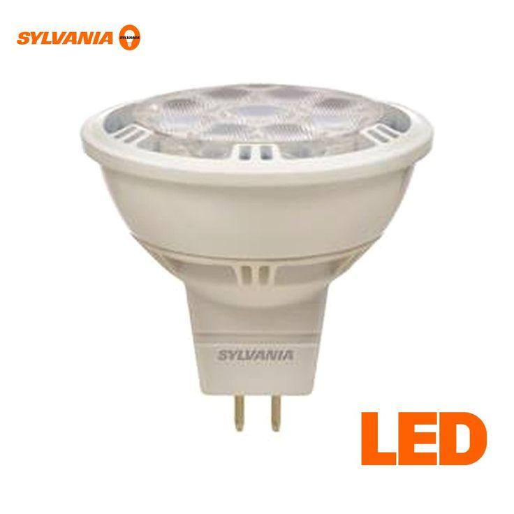 8 Watt - 50 Watt Halogen Replacement - MR16 LED Bulb - 3000K - Dimmable