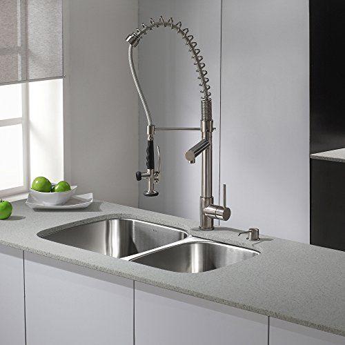 Kraus KPF-1602SS Single Handle Pull Down Kitchen Faucet