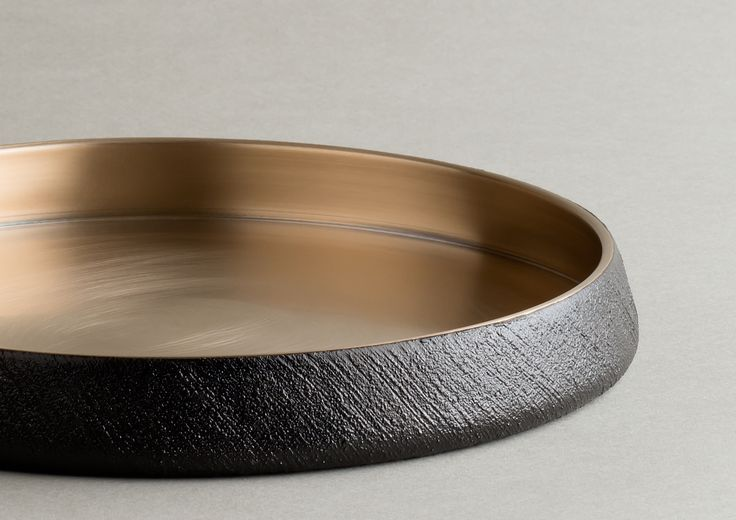 brassware with lacquer - yuhgee, ottchil - korean traditional material. damoon tableware.