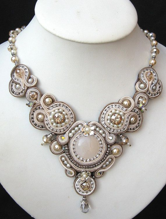 Crystal Regalia Necklace, simply beautiful #etsy