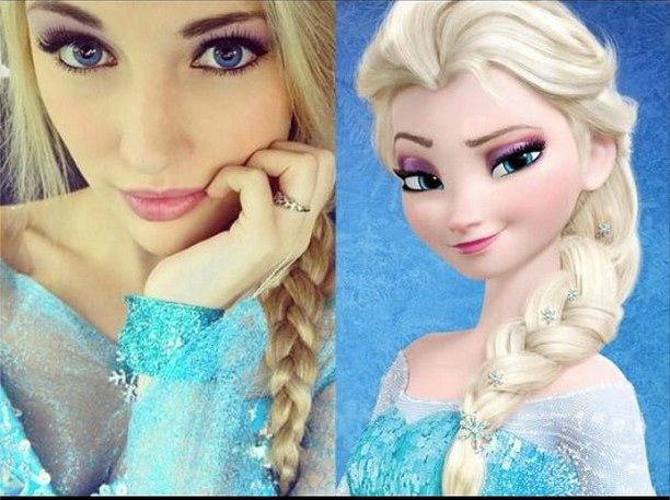 Girl Looks Exactly Like Elsa From 'Frozen'  It's Time Disneyland Gave Her a Job — PHOTOS