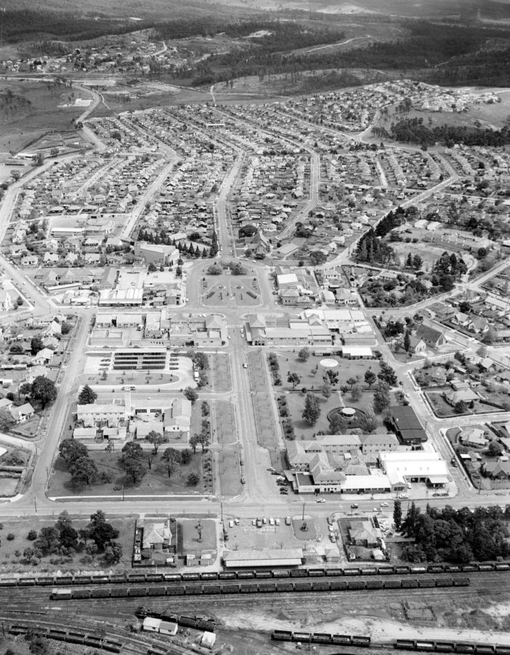 Yallourn, Victoria, 1940. All gone now