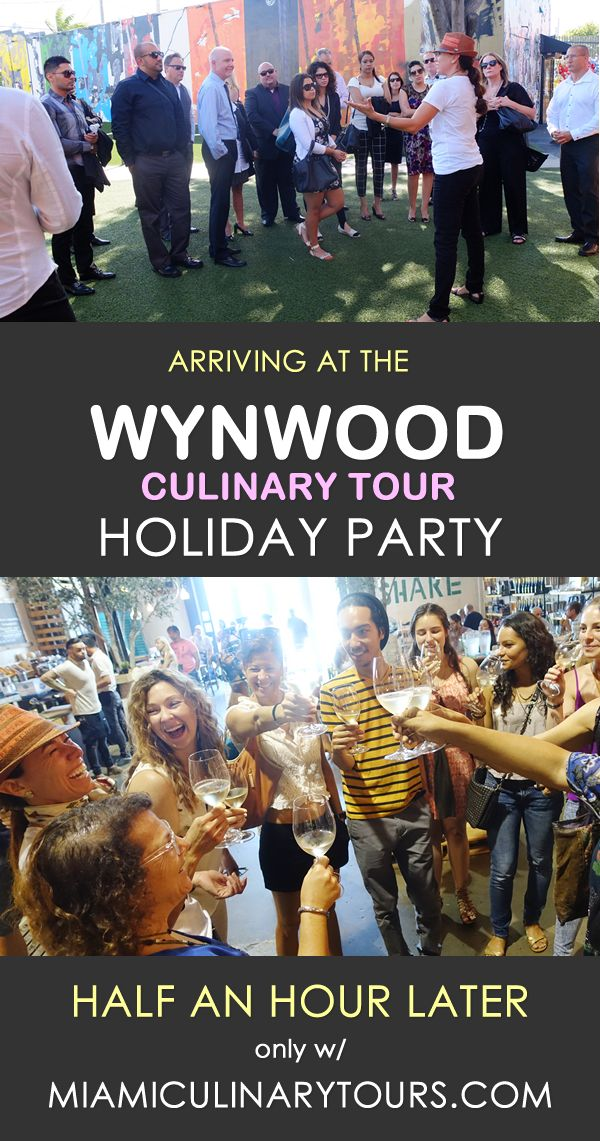 Miami Holiday Office Party Ideas with Miami Culinary Tours