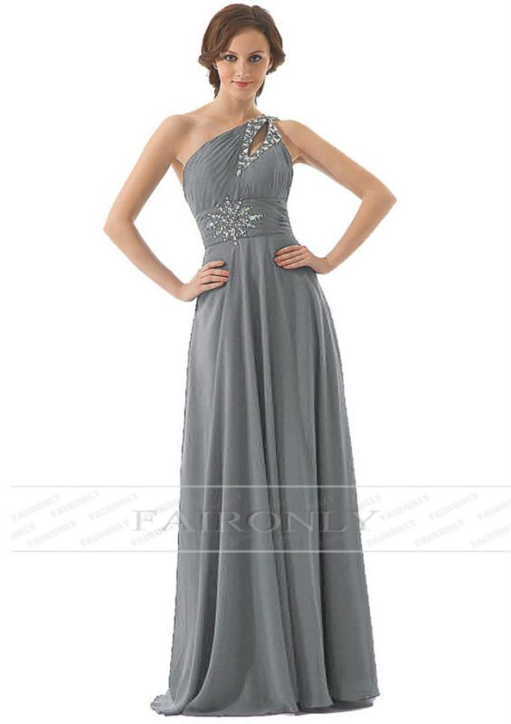 Silver bridesmaid dress wedding pinterest for Silver wedding bridesmaid dresses
