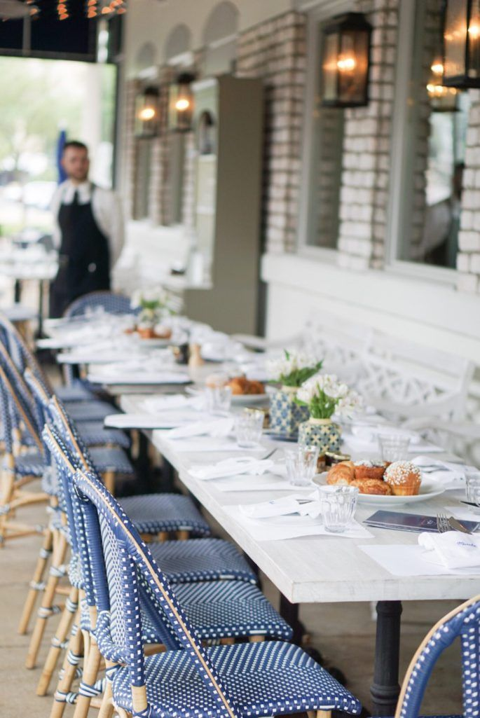 Spring Brunch At La Table Houston. Houston RestaurantsHouston BrunchFrench  PatioOutdoor ...