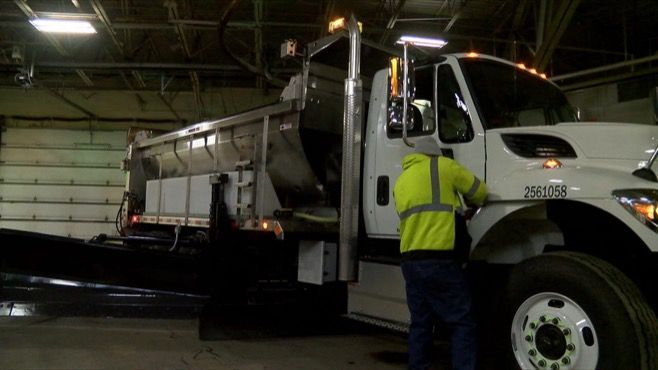 It's not snowing yet, but the Ohio Department of Transportation is ready for when it does.