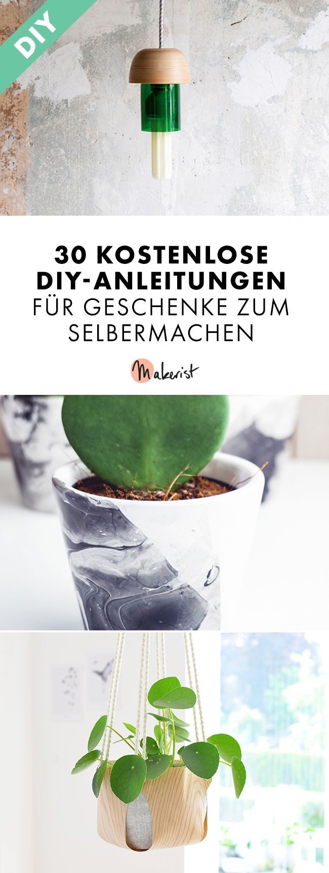 30 kostenlose diy anleitungen für geschenke zum selbermachen pin (2)