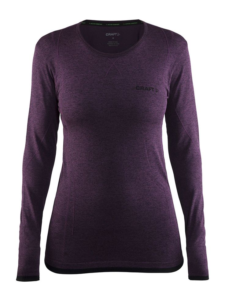 ACTIVE COMFORT MANCHES LONGUES FEMME CRAFT