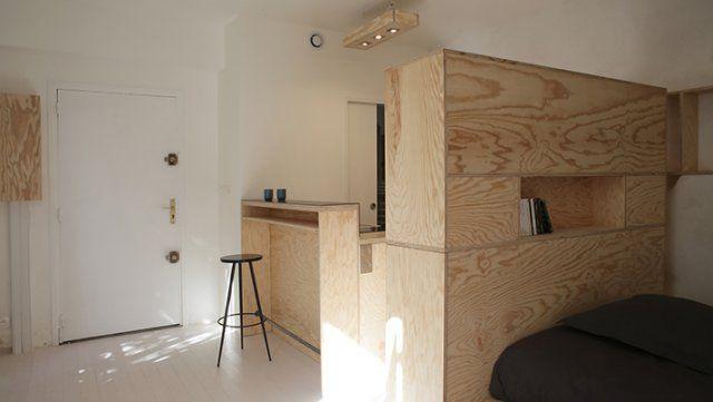 Studio MÉNILMONTANT, Paris : TeboPin Élite en rénovation