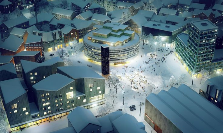 Kiruna #Sweden: The city that is moving down the road #urbanism #smartcities