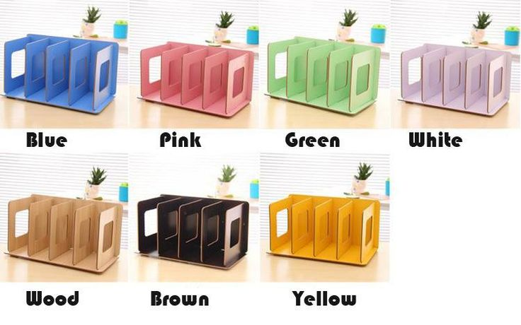 DIY wood board storage box, which colour do you like?