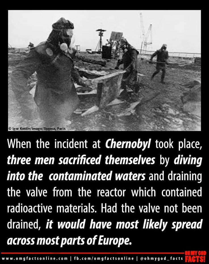 three heroes of Chernobyl disaster                                                                                                                                                     More