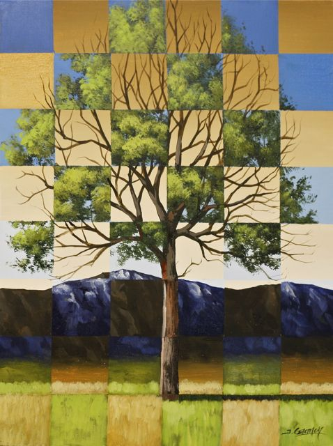 Surreal Timeline Tree Series – 4 Lesson Set – Acrylic Painting Lessons – Gagnon Studio