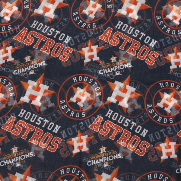 Houston Astros MLB 2017 World Series Champions - Womens Infinity Scarf Officially Licensed     ***PREORDER POLICY*** If your order contains both in stock and pr