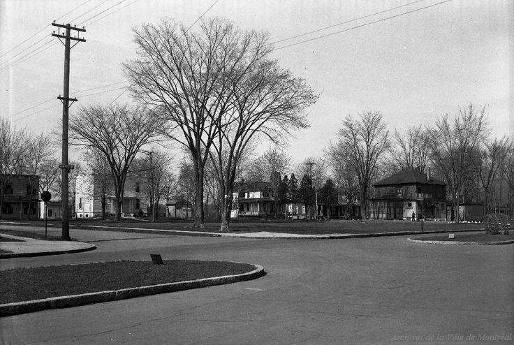 Parc Bordeaux: Angle boulevard Persilliers et Louisbourg . - [1943-1944] - Archives de Montréal