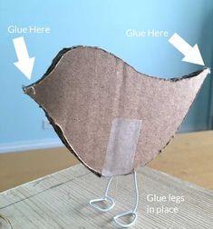 Paper Mache Chicken Tutorial