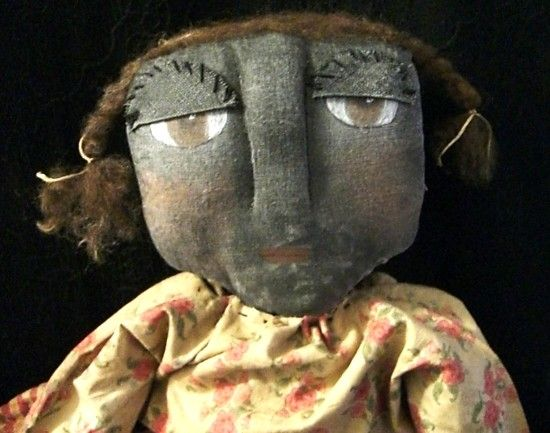 Primitive Black Doll Tillie