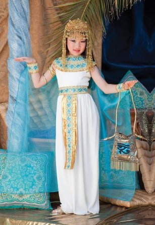 Amazon.com: Time AD Inc. Cleopatra Child Costume: Clothing
