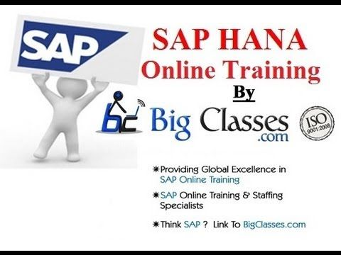 http://www.bigclasses.com/sap-hana-online-training.html SAP is hoping to sow more seeds of interest in its newest technologies, including the HANA in-memory database, through a new online training program available at no charge.