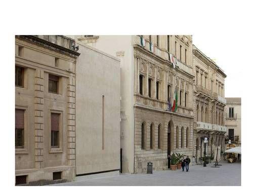 Vincenzo Latina — Padiglione di accesso agli scavi dell'Artemision di Siracusa