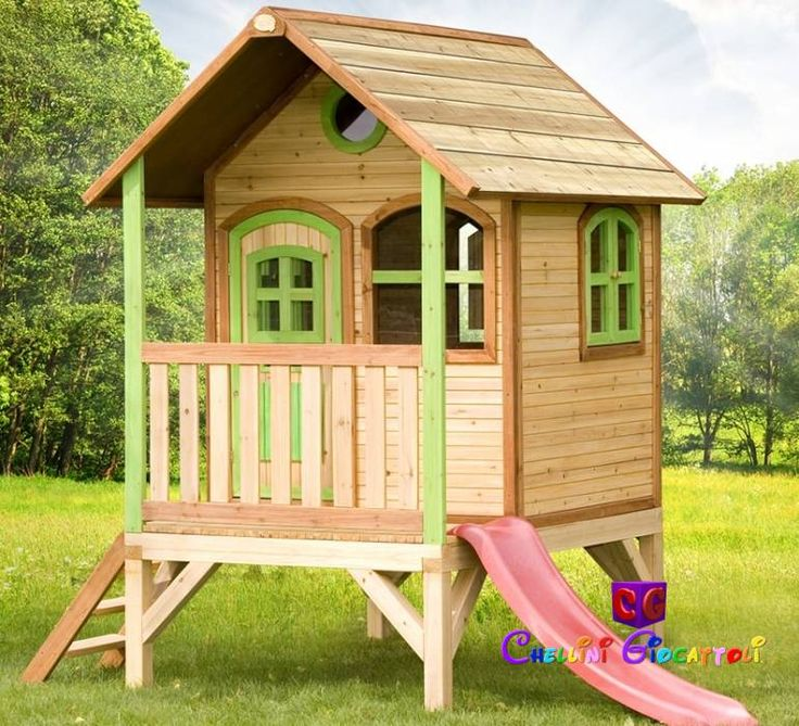 22 best casette in legno images on pinterest wood cabins backyard ideas and children garden - Oblo tetto casa ...
