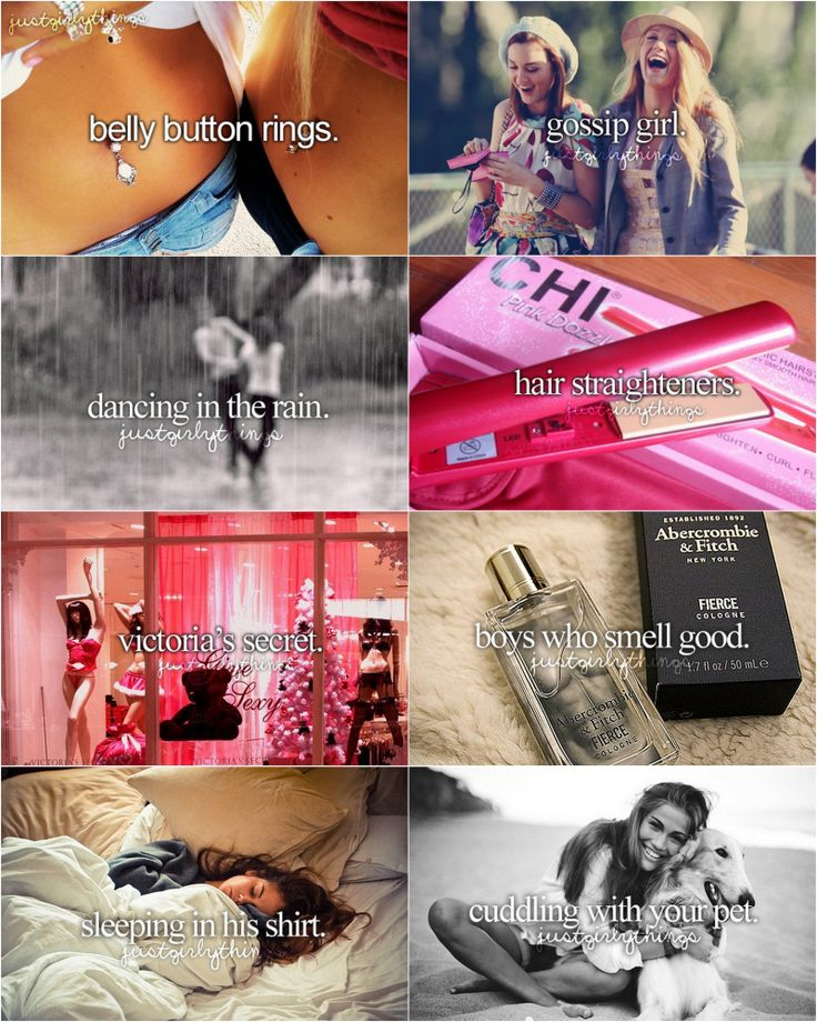 Just girly things. :) I don't watch gossip girl tho