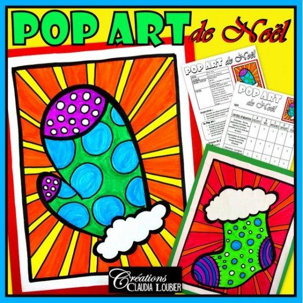 Pop art de Noël : Arts plastiques