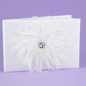 Feathered Flair Guest Book