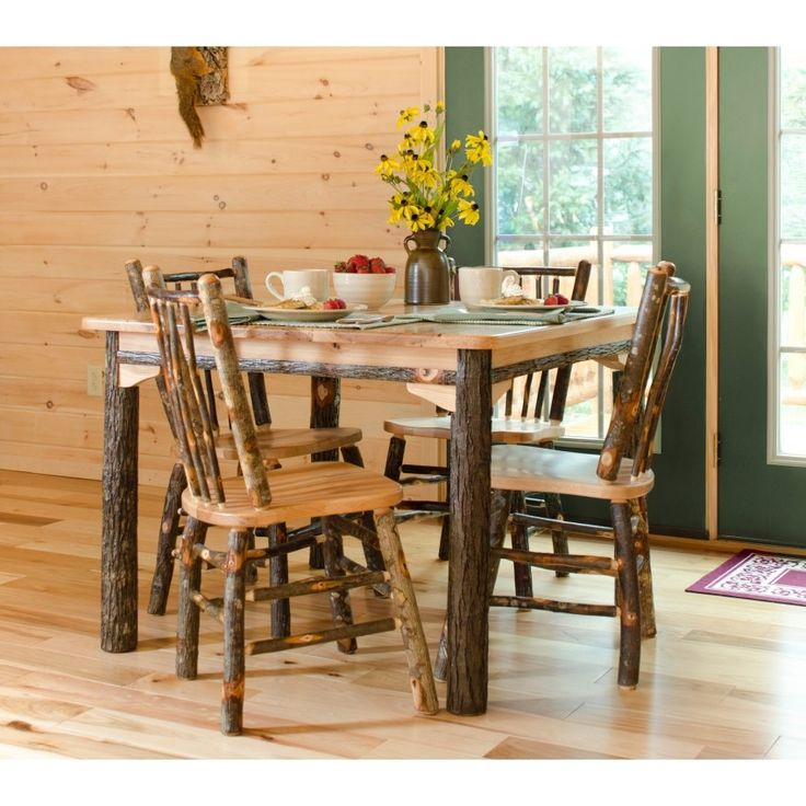 The Awesome Rustic Dining Room Sets With Regard To Comfortable