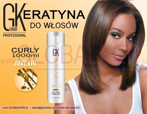 Keratyna do włosów GK Hair Curly 1000ml Global Keratin Juvexin Warszawa Sklep #no.1 #globalker  http://globalker.pl/keratyna-do-zabiegow/806-gk-hair-keratyna-curly-truskawka-1000ml-global-keratin.html