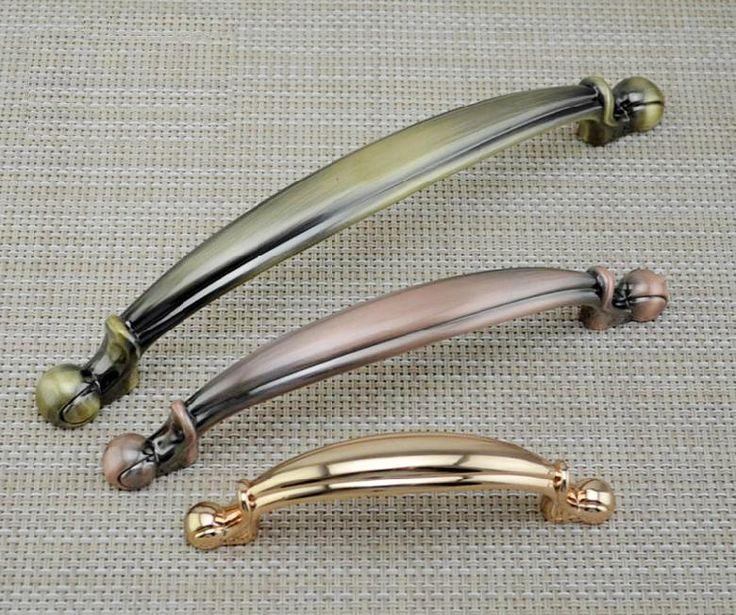 Handle Pull Cabinet Handles Dresser Drawer Pulls Handles Gold Copper Bronze  / Kitchen Cupboard Hardware Antique