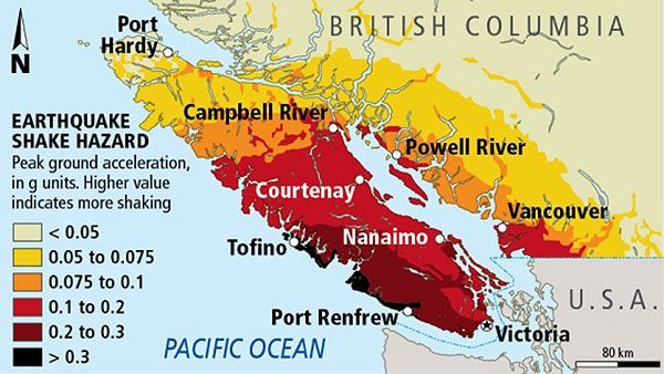 Earthquake Zone - Vancouver Island - Schulz -The Big One-Map-3