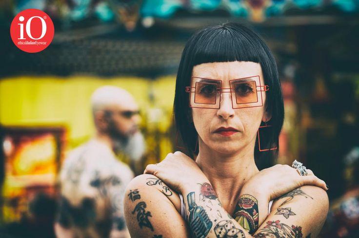S K E L E T O N COLLETION! #FOLLOWUS #ioethicalitalianeyewear #lioocchiali #grunge #rock #stylist #ink #eyewear #design