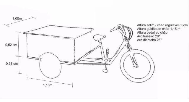 Locação de Food Bike / Trike                                                                                                                                                      Mais