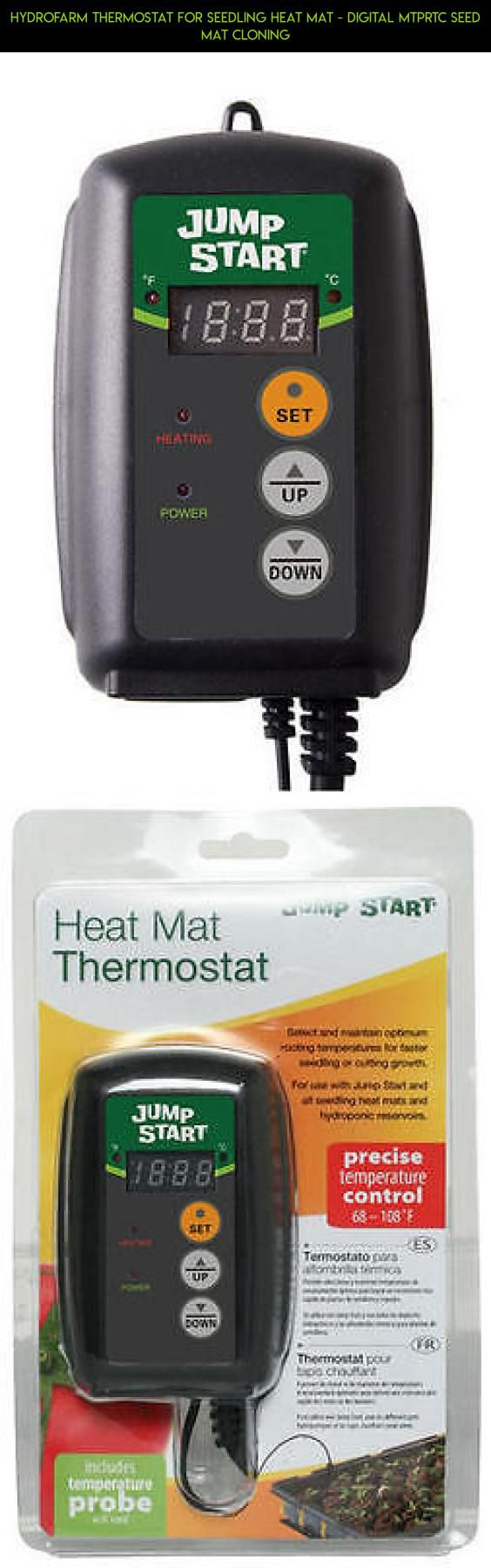 Hydrofarm Thermostat for Seedling Heat Mat - Digital MTPRTC Seed Mat Cloning #for #drone #seedlings #plans #mats #fpv #heating #technology #kit #camera #products #shopping #racing #parts #tech #gadgets