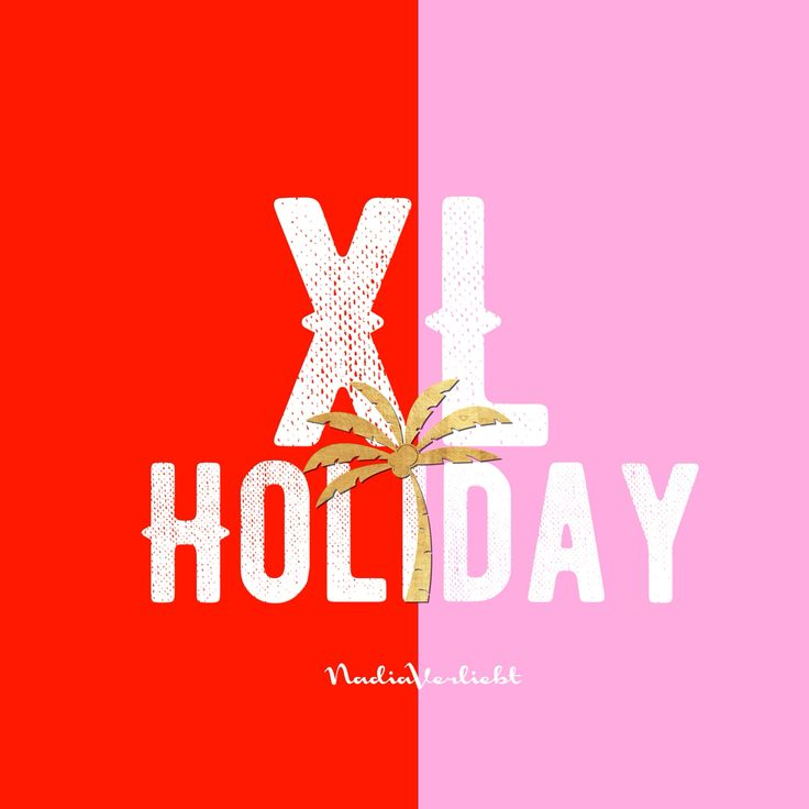 #xlholiday #redandpink #nadiaverliebt #brand #branding #designer #design #summer2016 #summercollection #typography #fashion