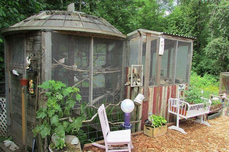 Satellite Dish Bird Cage