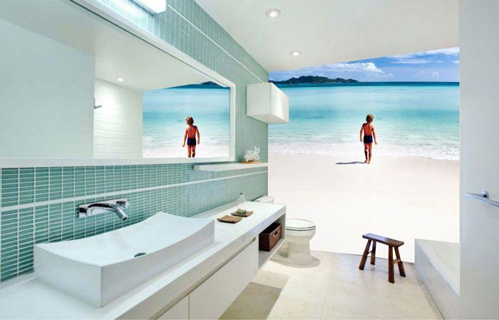 Elegant Mural 5 | Bathrooms | Pinterest | Murals, Bathroom Wall And Bathroom Part 13