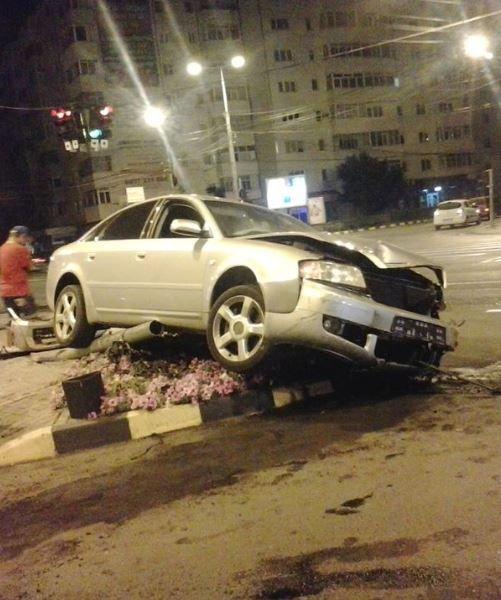 Accident in centrul Focsaniului
