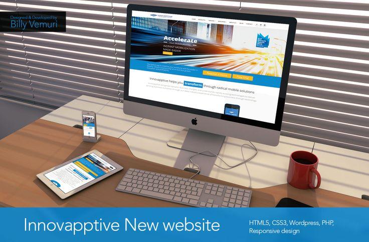 Innovapptive new website. Designed by Billy vemuri
