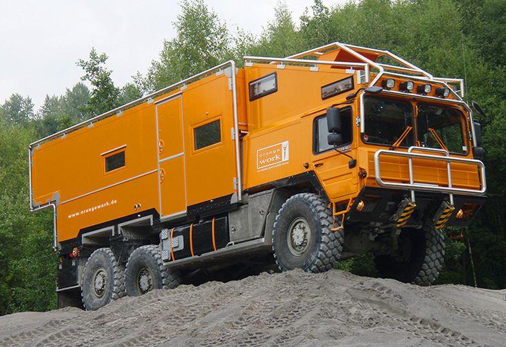 Orangework MAN KAT 1A1 Expeditionsfahrzeug, Wohnmobil
