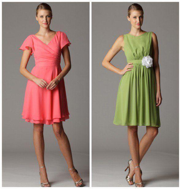 Flowing Bridesmaid Dress