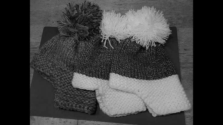 öron lapp vinterhatt, Yak-Hut, Hut mit echtem Strick auf einem runden Webstuhl   – Loom knitting