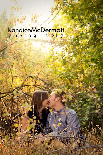 Couple Photography - Kandice McDermott Photography. Do away with the open mouth kissing and the setting is pretty cool.