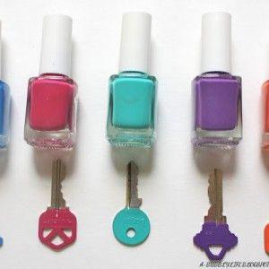diy / Schlüssel mit Nagellack markieren