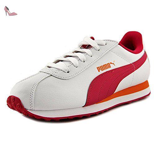 Turin, Sneakers Basses Mixte Adulte, Blanc (White-White), 48.5 EUPuma