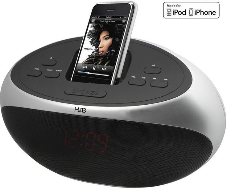 H IP-26i - Un nouveau dock radio-réveil pour iPod/iPhone, lecture USB & carte SD !