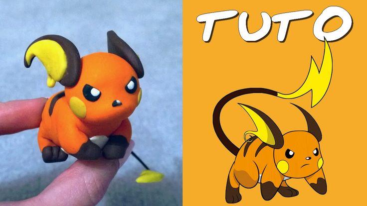TUTO FIMO   Raichu (de Pokémon)